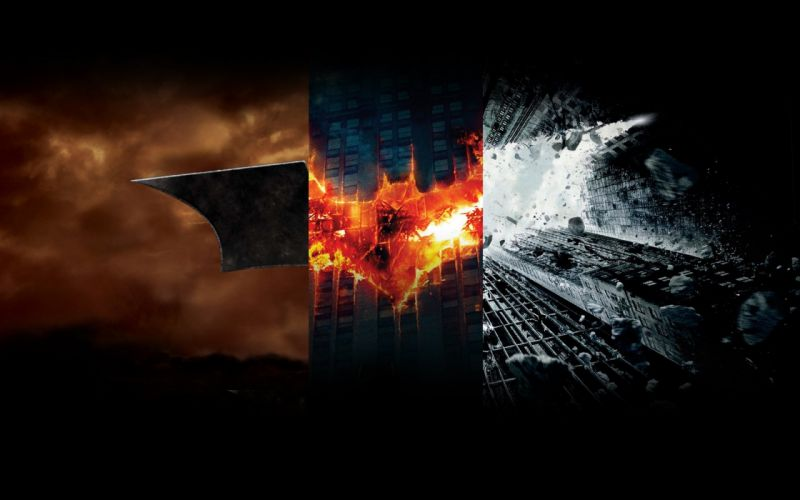 Batman Begins logos panels The Dark Knight Batman The Dark Knight Rises wallpaper