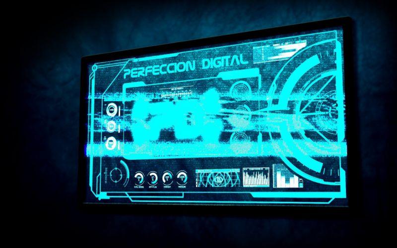 HUD Perfeccion Digital wallpaper
