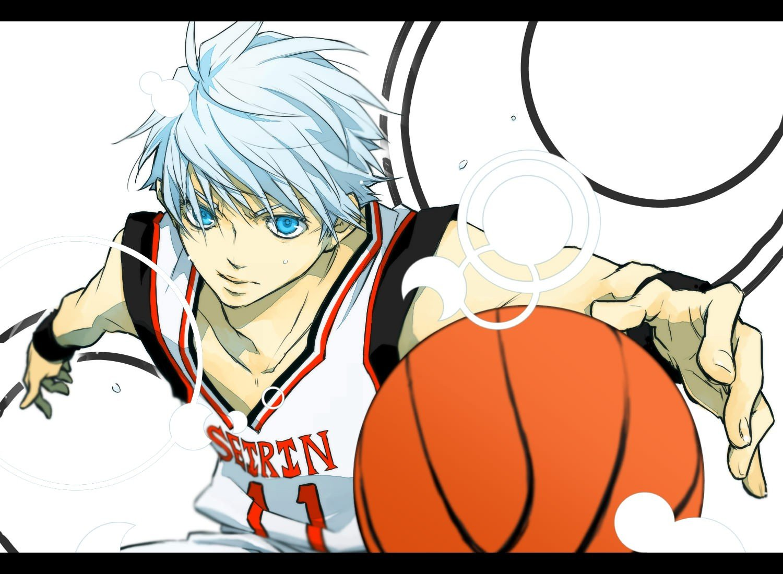 Blue Eyes Hair Basketball Anime Boys Kuroko No Basket Tetsuya Wallpaper