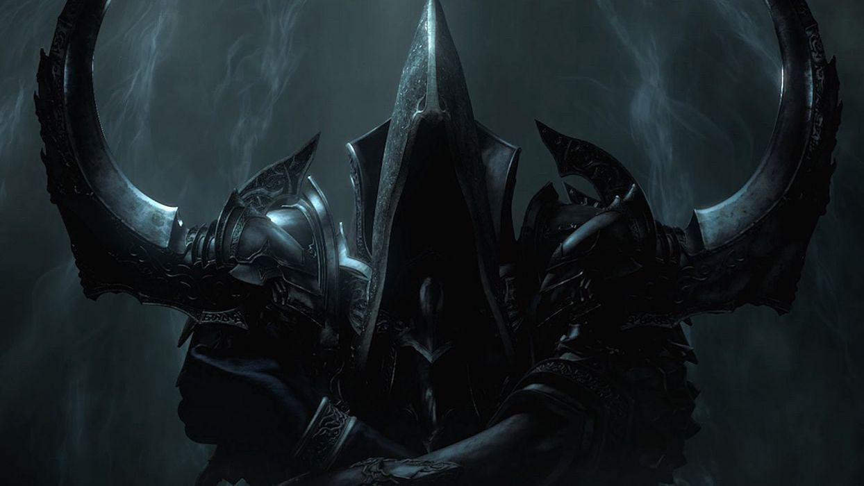 angels video games death Diablo Diablo III blizzard Malthael wallpaper