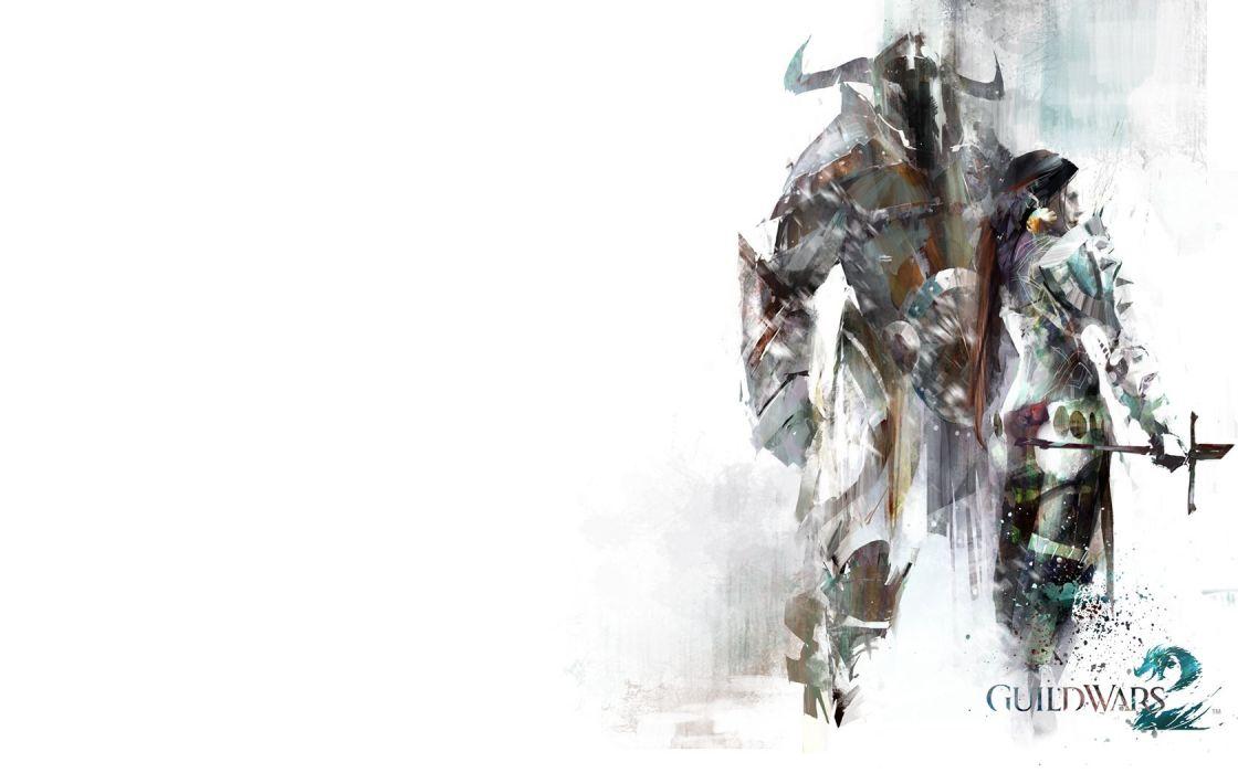 Guild Wars simple background wallpaper