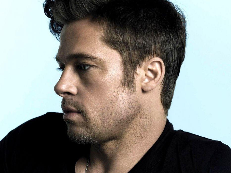 American men Brad Pitt actors wallpaper