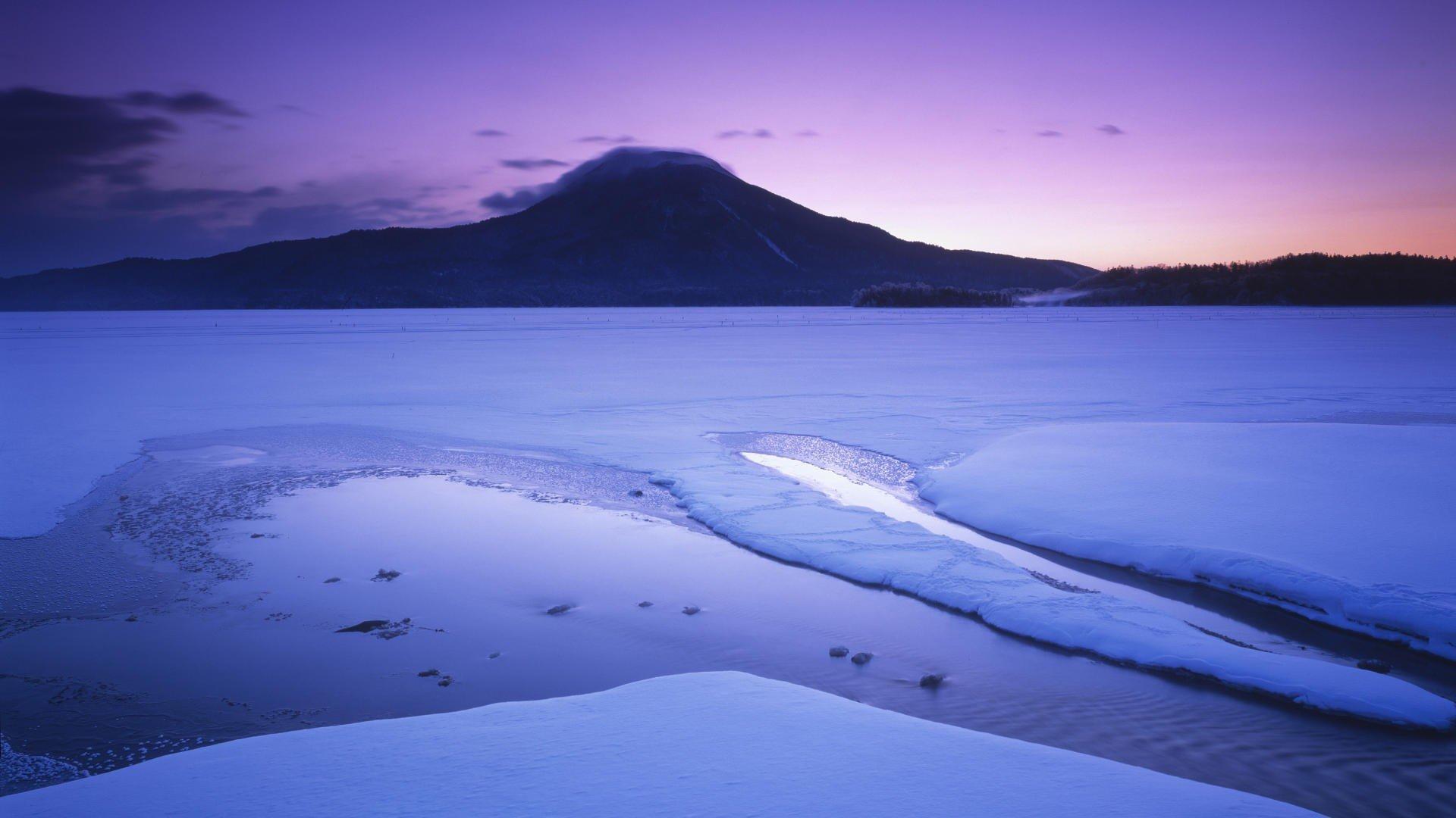 Japan winter National Park Hokkaido wallpaper | 1920x1080 ...