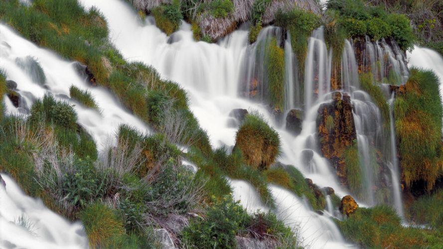 Idaho parks waterfalls wallpaper