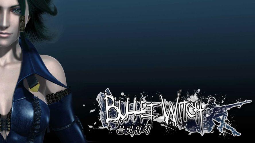 women Bullet Witch wallpaper