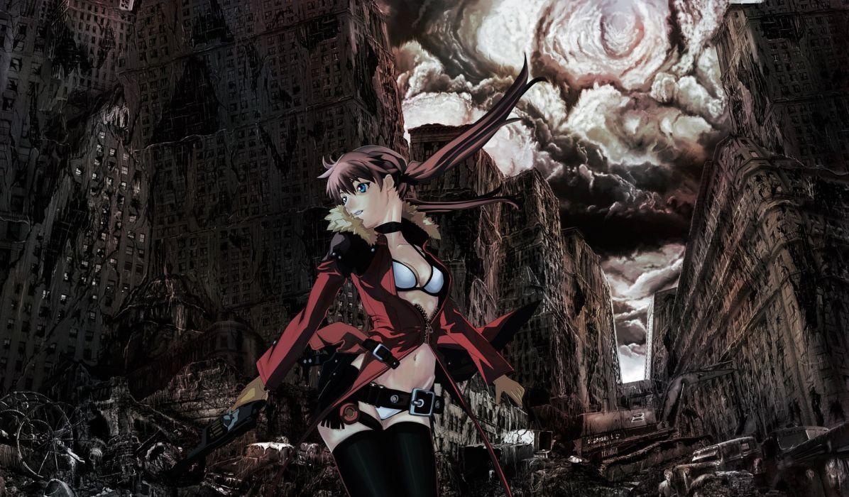 apocalypse artwork anime girls wallpaper