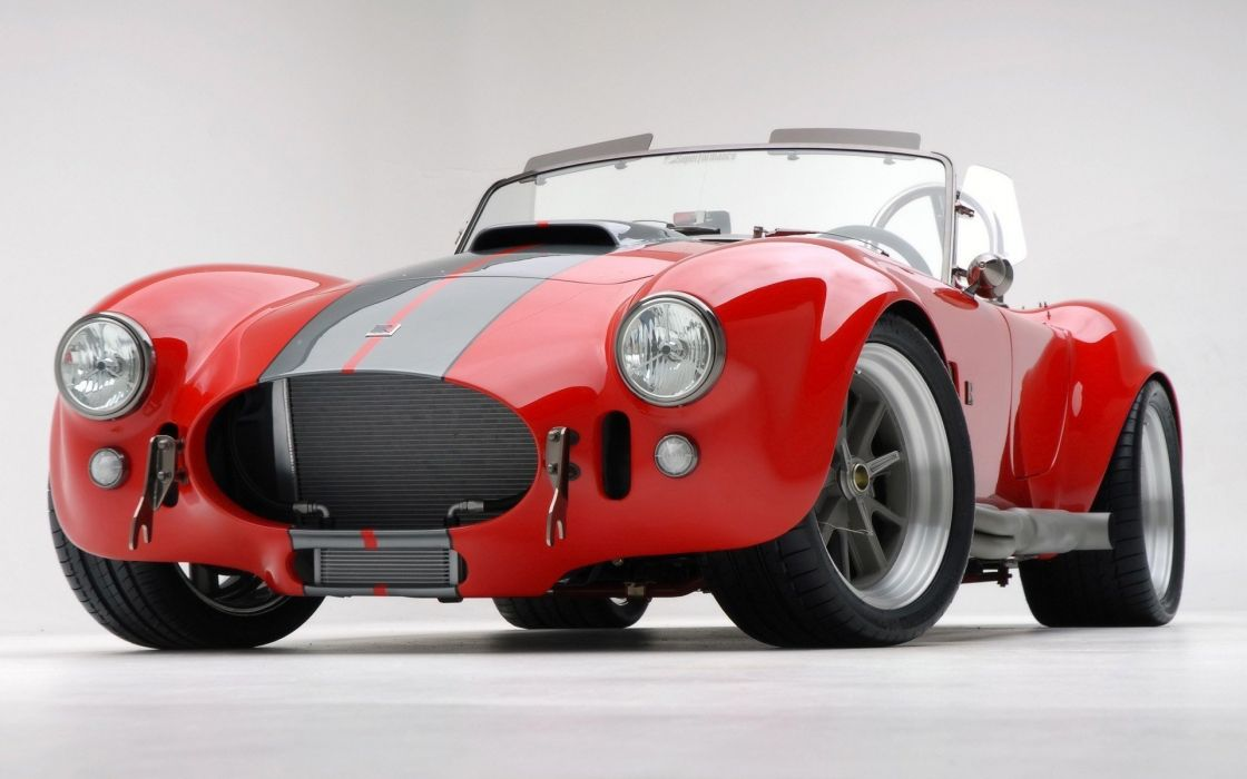 cars vehicles convertible red cars Shelby Cobra wallpaper