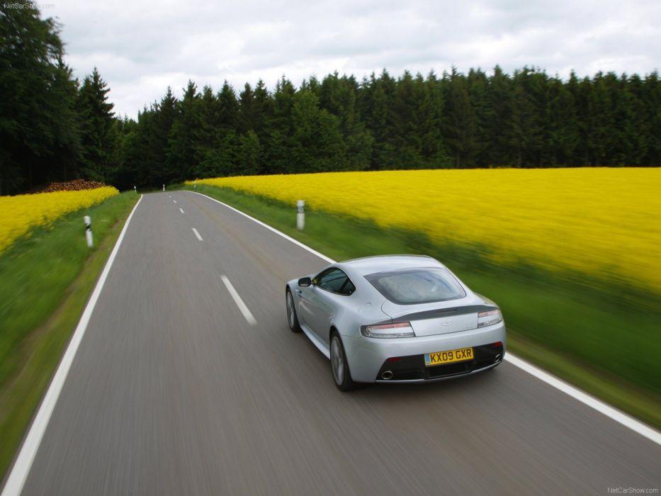 cars Aston Martin vantage Aston Martin V12 Vantage V12 wallpaper