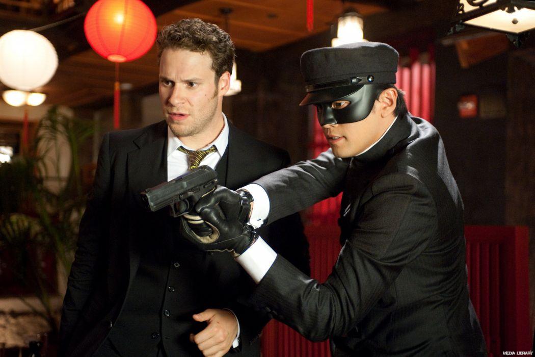 GREEN HORNET action crime comedy martial movie film superhero (25) wallpaper