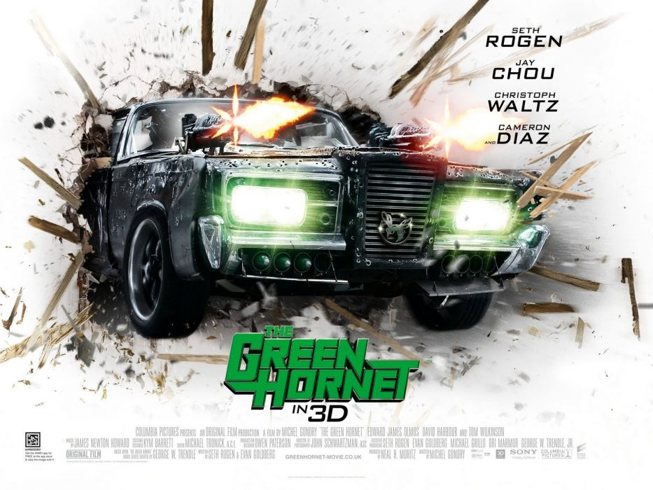 GREEN HORNET action crime comedy martial movie film superhero (33) wallpaper