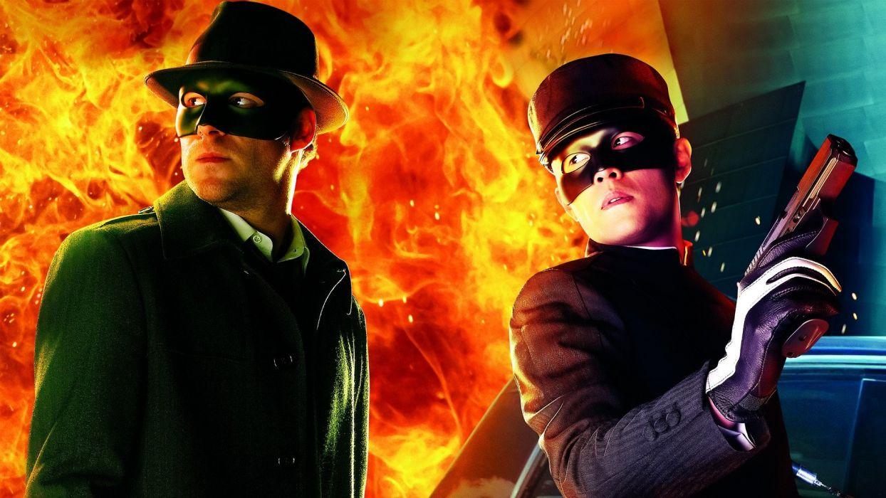 GREEN HORNET action crime comedy martial movie film superhero (51) wallpaper