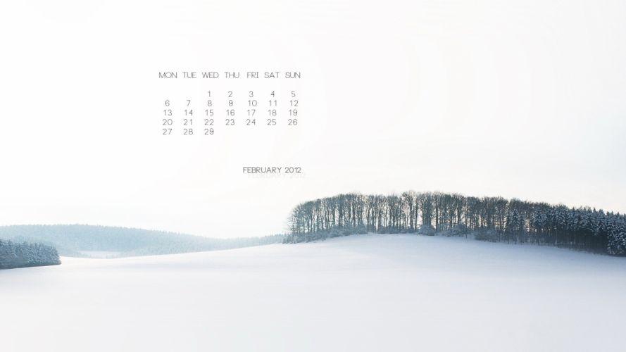 landscapes calendar wallpaper