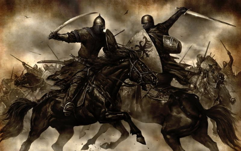 battles Mount&Blade; warriors wallpaper