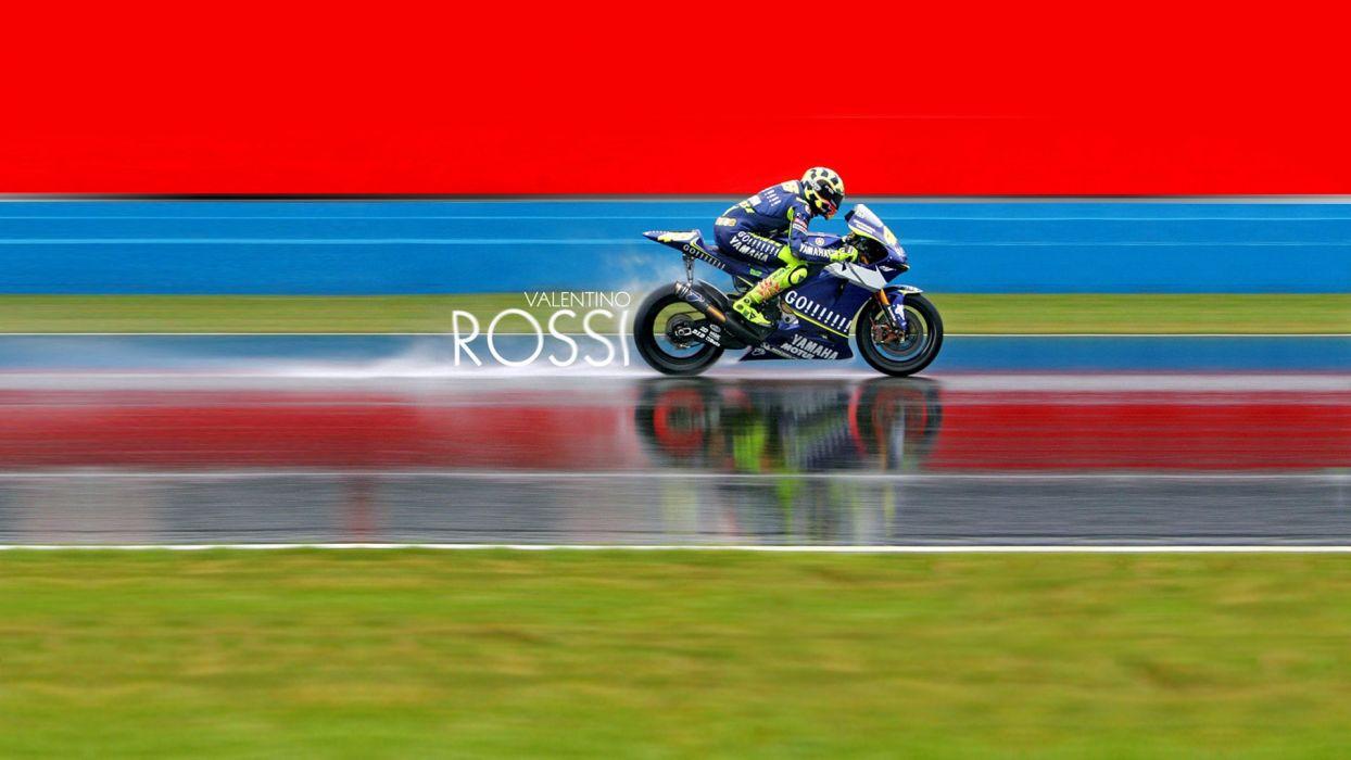 Yamaha vehicles Moto GP motorbikes Valentino Rossi wallpaper