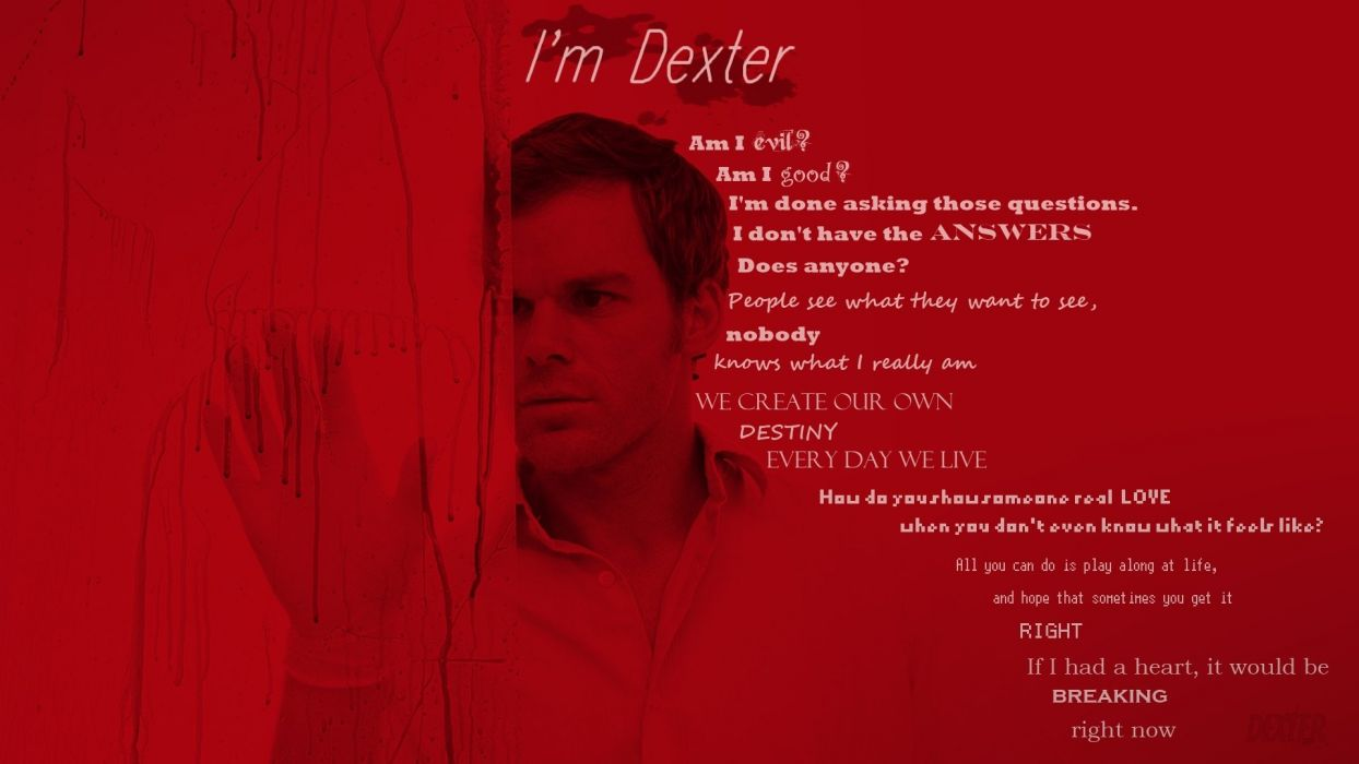 Dexter television wallpaper