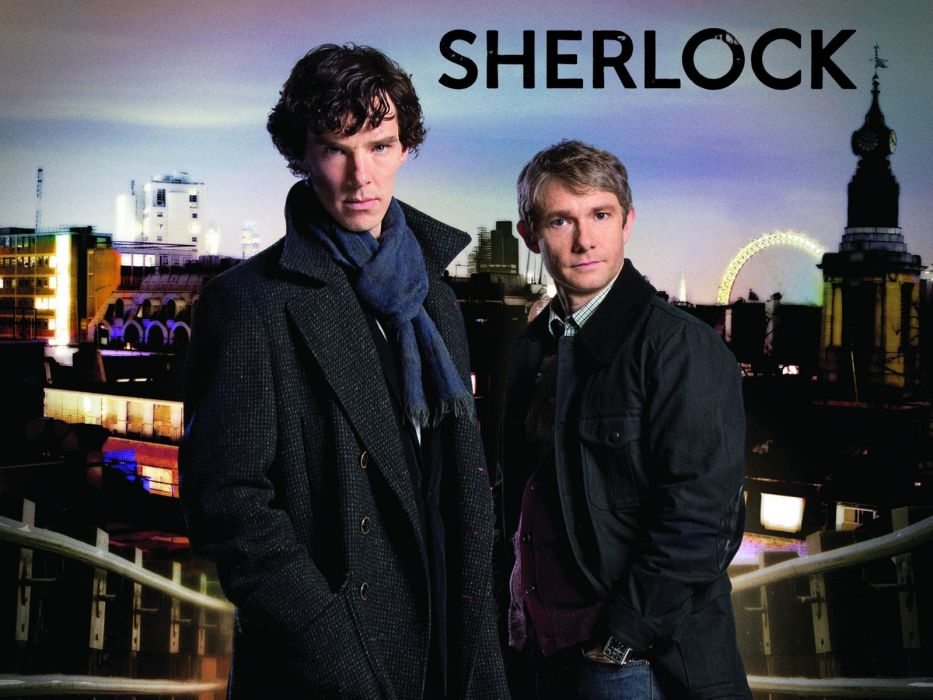 Sherlock Holmes Benedict Cumberbatch Martin Freeman Doctor Watson Sherlock BBC wallpaper