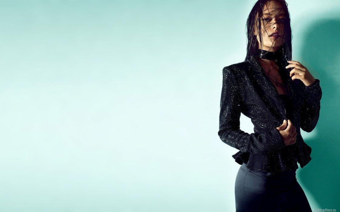 brunettes women actress models Olivia Wilde wallpaper