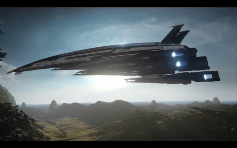 Normandy Mass Effect Mass Effect 3 Anderson Commander Shepard SR2 Normandy Jocker alliance ship wallpaper