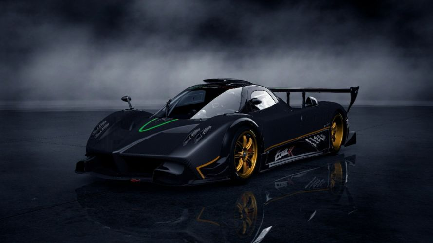 video games cars Pagani Zonda R Gran Turismo 5 Playstation 3 wallpaper