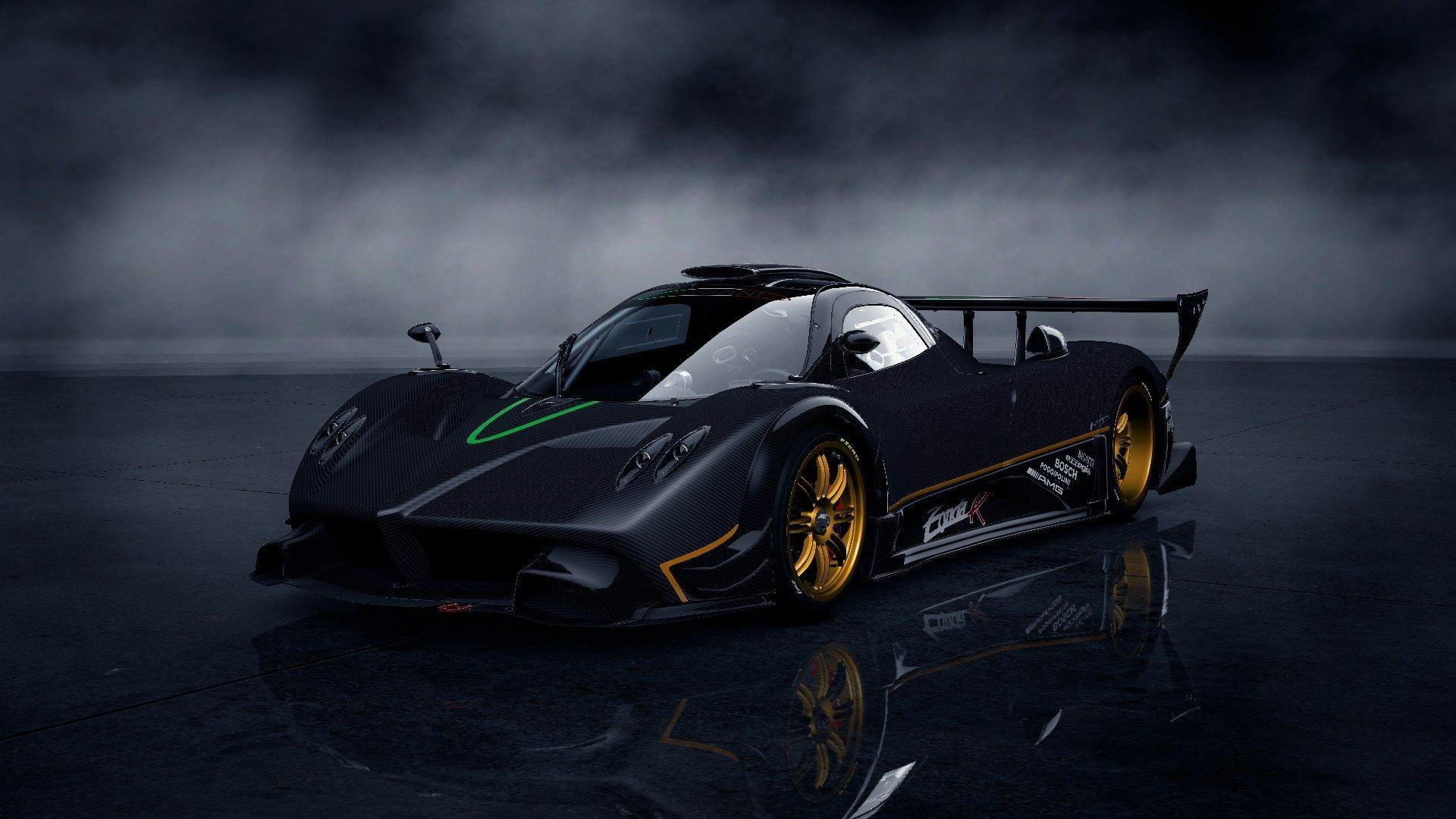 Video Games Cars Pagani Zonda R Gran Turismo 5 Playstation