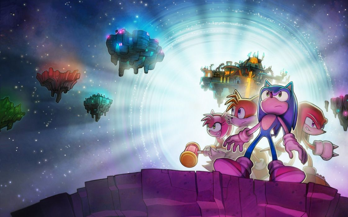 tails video games friends Sonic Knucles wallpaper