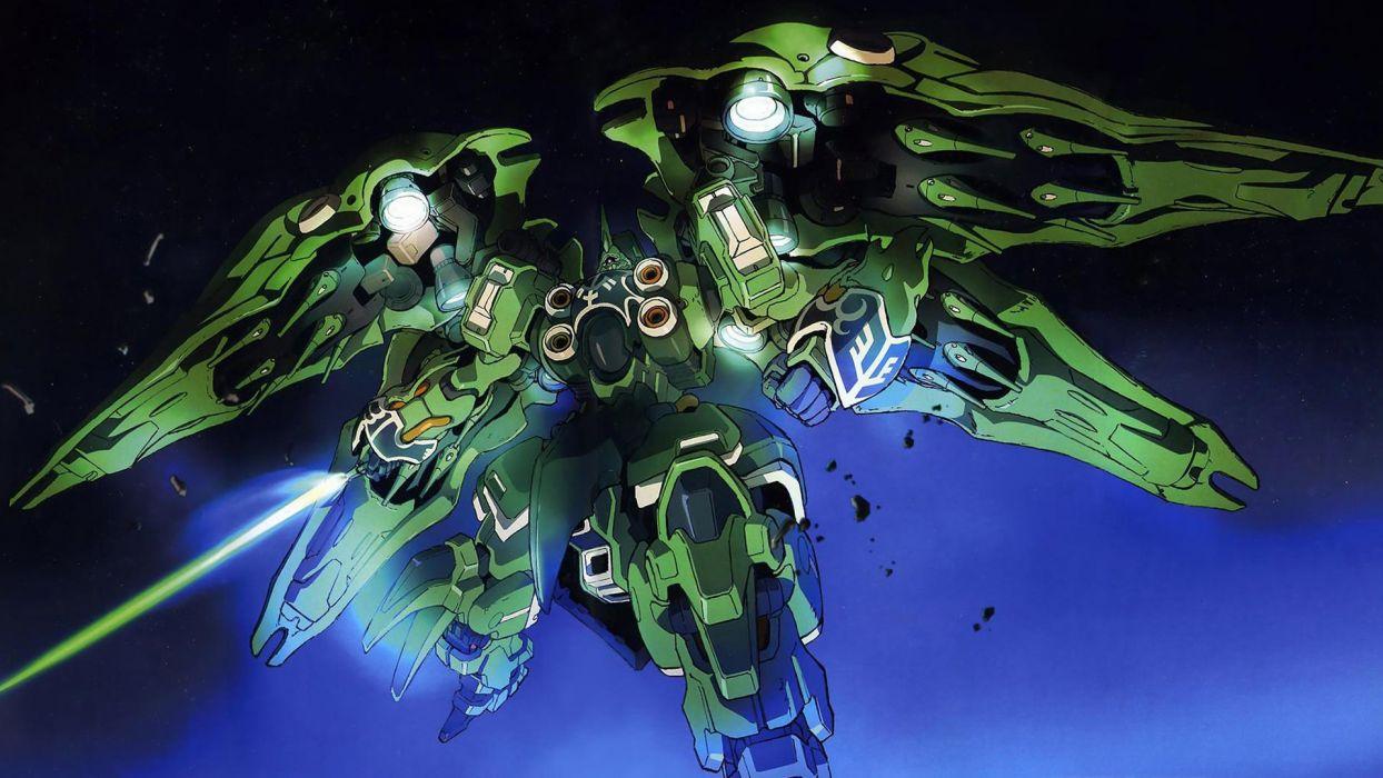 Mobile Suit Gundam mecha Gundam Unicorn NZ-666 Kshatriya wallpaper