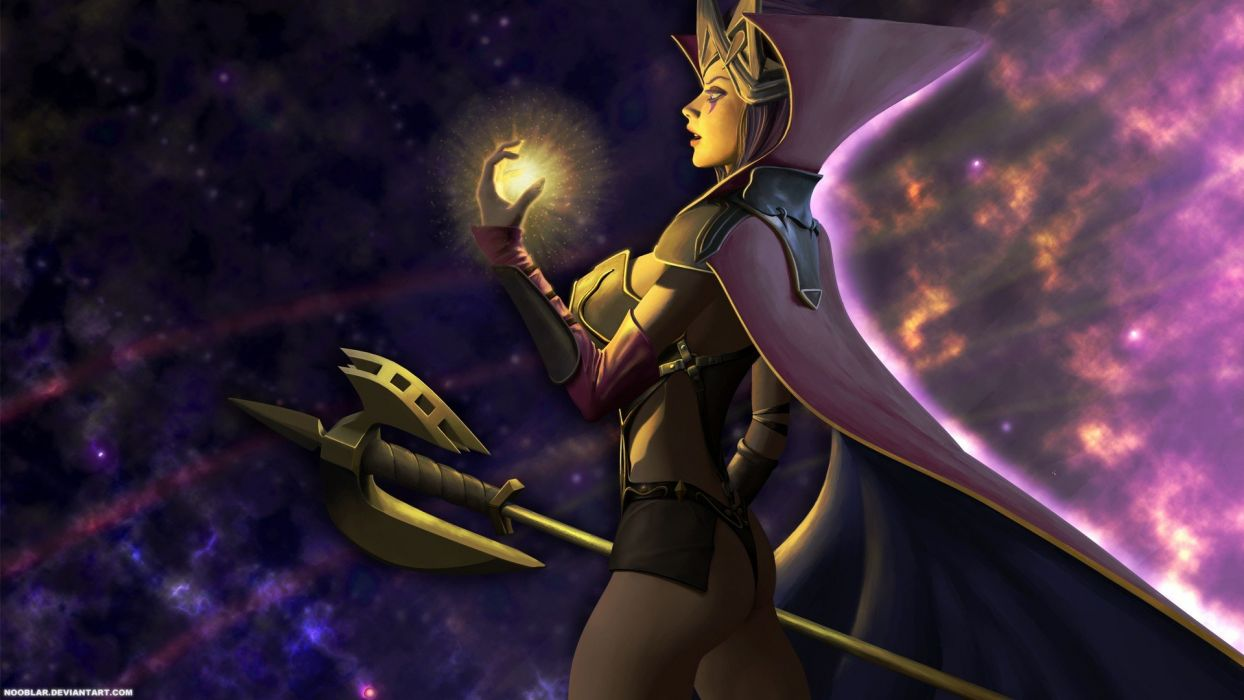 League of Legends fantasy art wallpaper