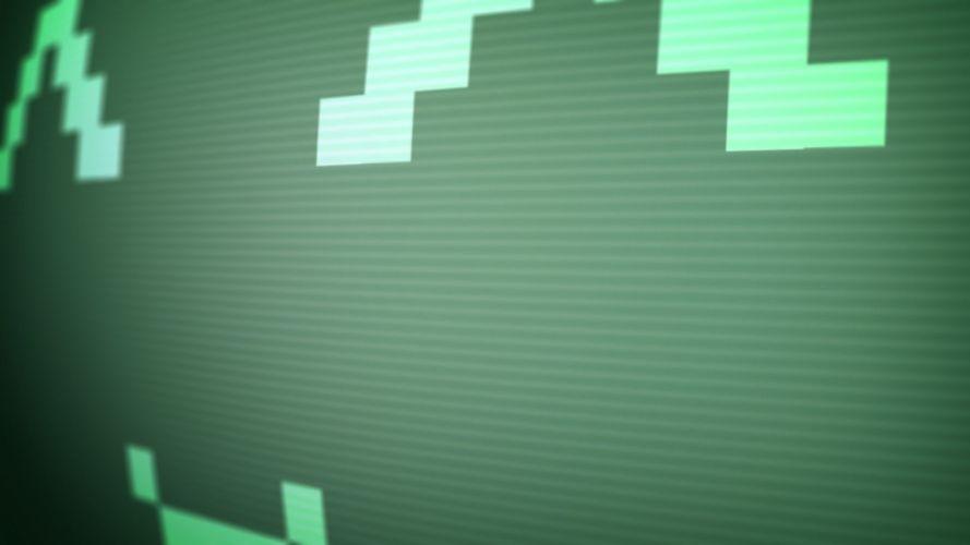 pixel smiley wallpaper