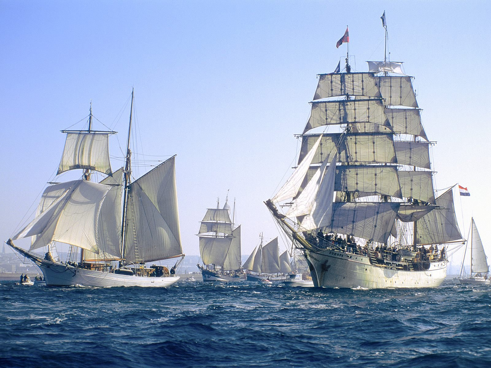 sailing ship in the-#6