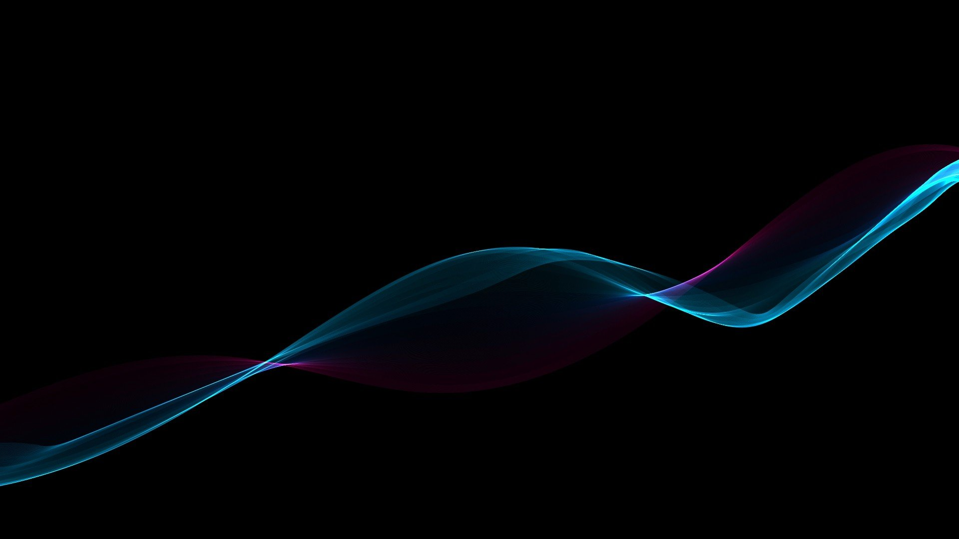 Abstract black minimalistic waves gradient wallpaper 1920x1080 257768 wallpaperup - Image wallpaper ...