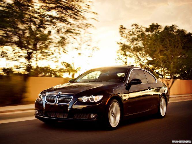 BMW cars roads wallpaper