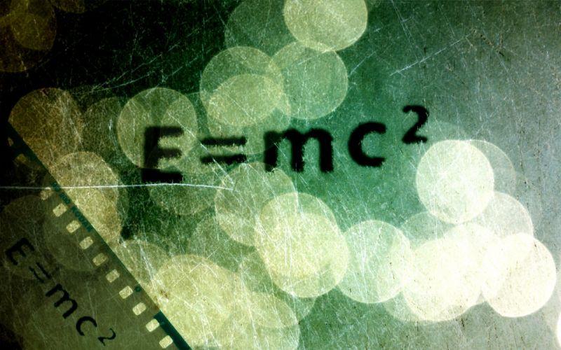 physics e = mc 2 equation wallpaper