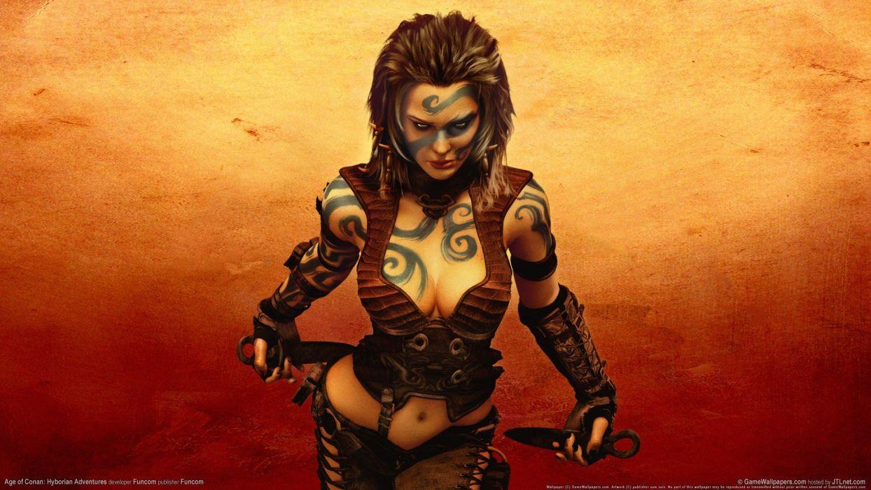 Age Of Conan video games wallpaper
