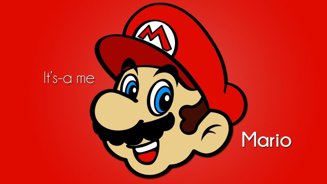 Nintendo Video Games Minimalistic Mario Super Mario Digital Art Nintendo 64 Vector Art Wallpaper 1920x1080 257877 Wallpaperup