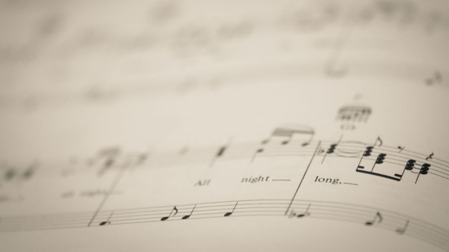 music macro wallpaper