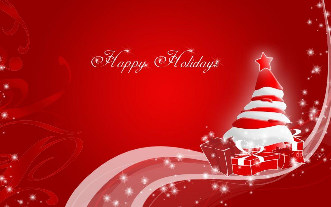 red Christmas wallpaper