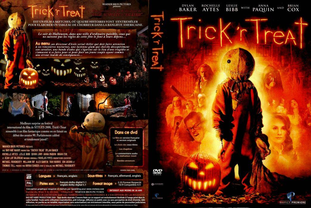 TRICK R TREAT horror thriller dark halloween movie film (7) wallpaper