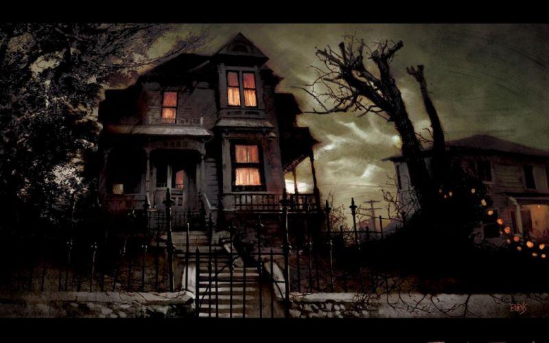 TRICK R TREAT horror thriller dark halloween movie film (33) wallpaper