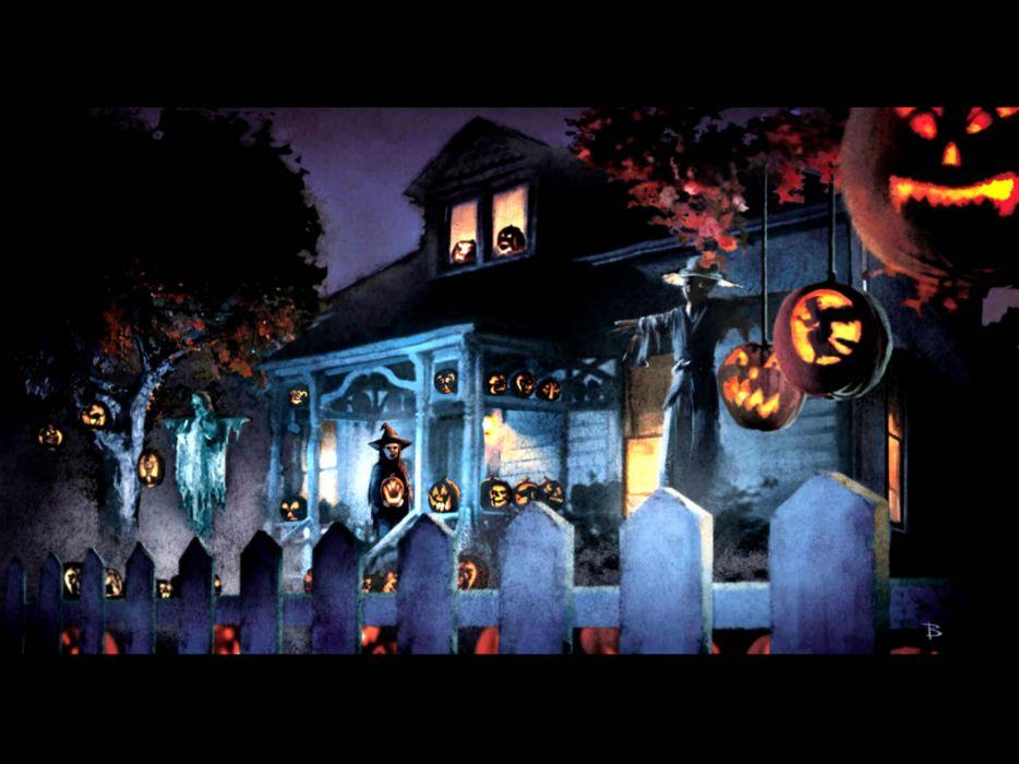 TRICK R TREAT horror thriller dark halloween movie film (34) wallpaper