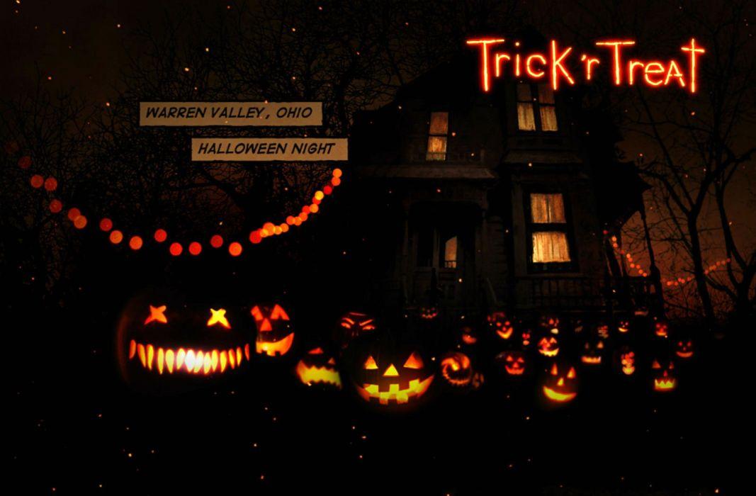 TRICK R TREAT horror thriller dark halloween movie film (36) wallpaper