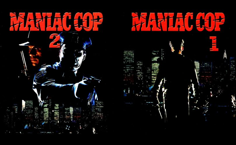 MANIAC COP action crime horror dark movie film (7) wallpaper