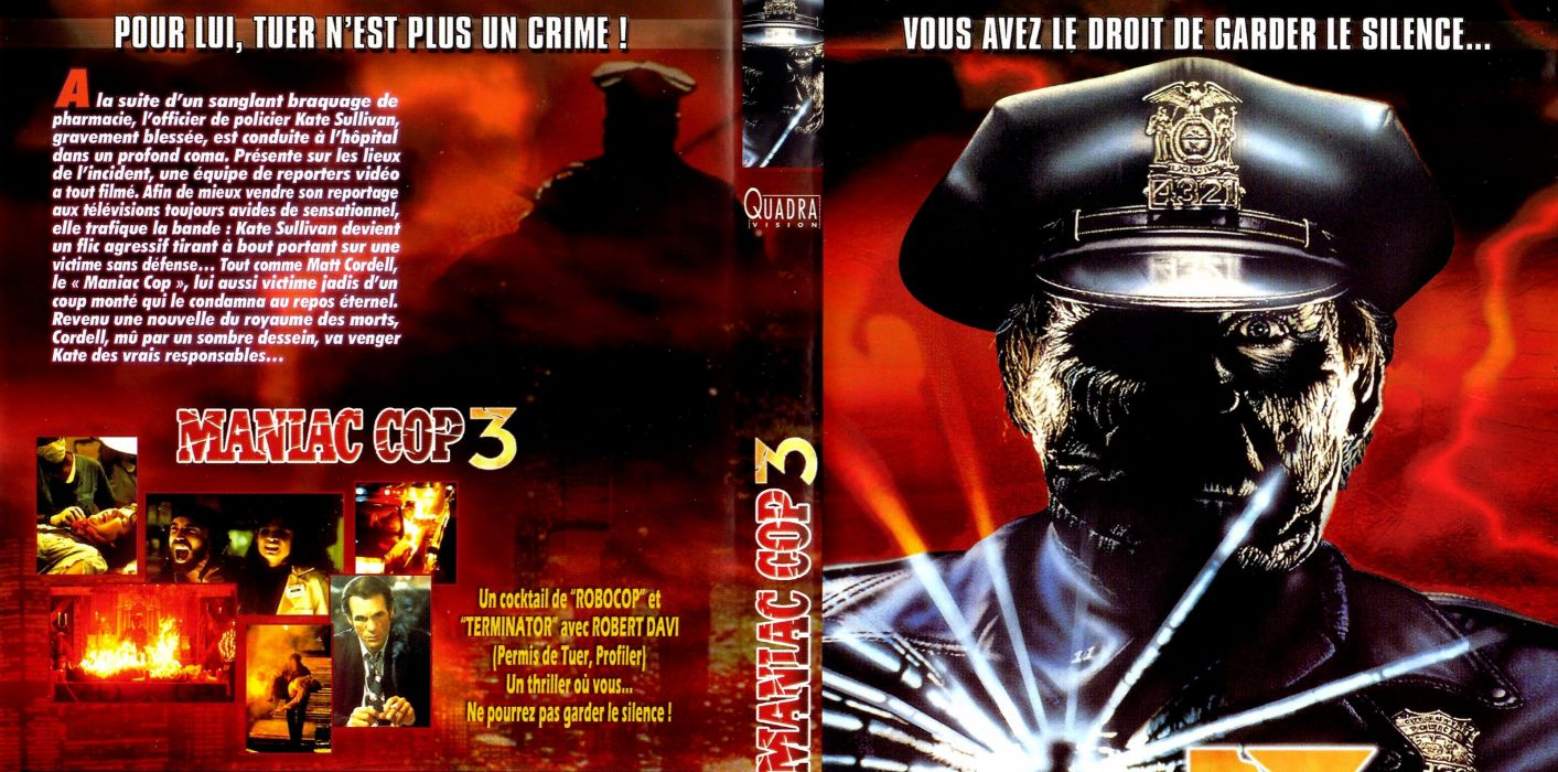 MANIAC COP action crime horror dark movie film (8) wallpaper
