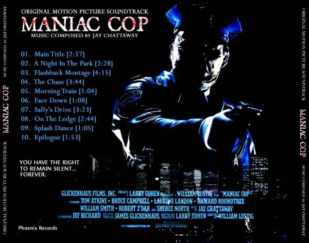 MANIAC COP action crime horror dark movie film (18) wallpaper