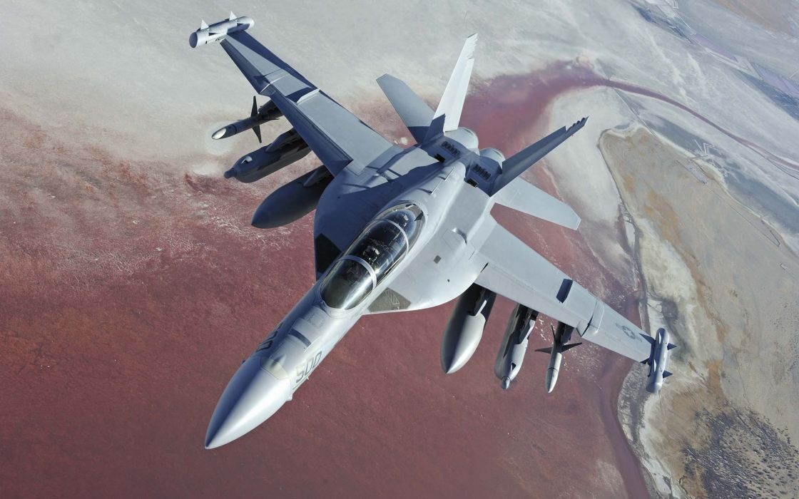 aircraft military vehicles F-18 Hornet wallpaper