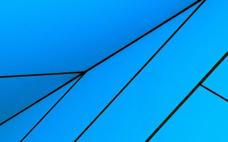blue minimalistic Windows 8 wallpaper