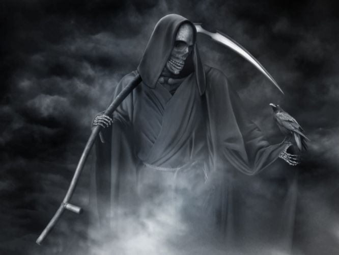 death crow grim reapers wallpaper