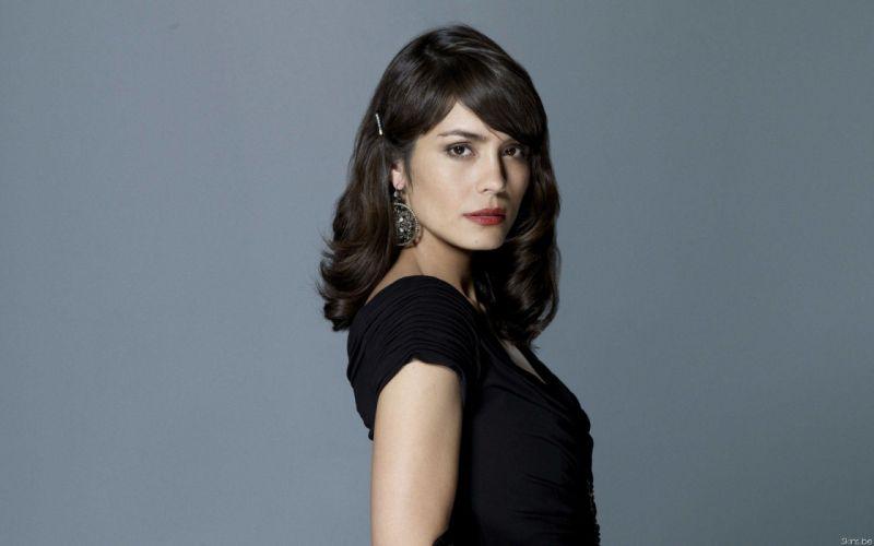 brunettes women actress Shannyn Sossamon widescreen wallpaper