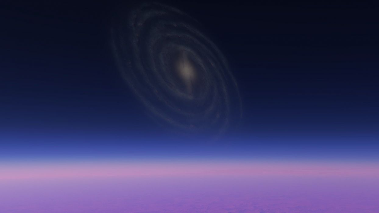 outer space galaxies planets astronomy wallpaper
