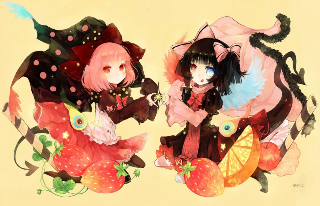 Mahou Shoujo Madoka Magica anime anime girls mahou shoujo Charlotte (Mahou Shoujo Madoka Magica) wallpaper
