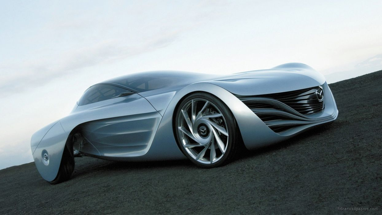 cars Mazda concept art Taiki wallpaper